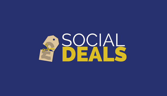 the high converting social deals homepage