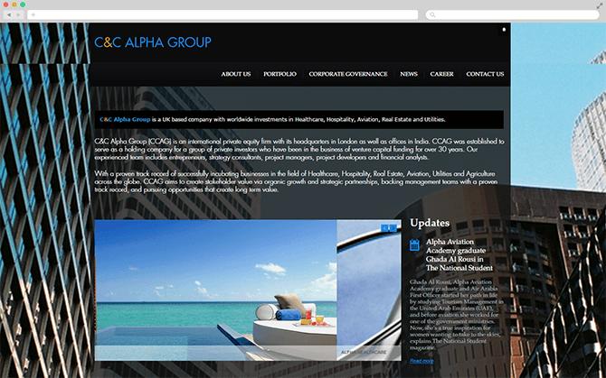 website on mac
