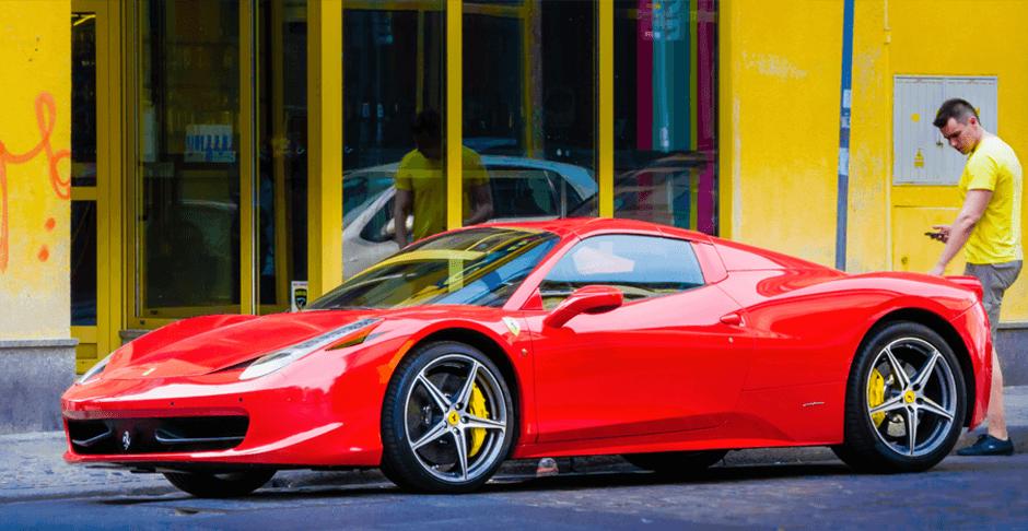View Ferrari Car Hire Project