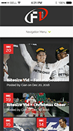 see f1.co.uk website on mobile