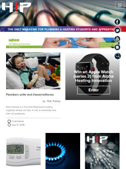 HIP Magazine on iPad - mobile