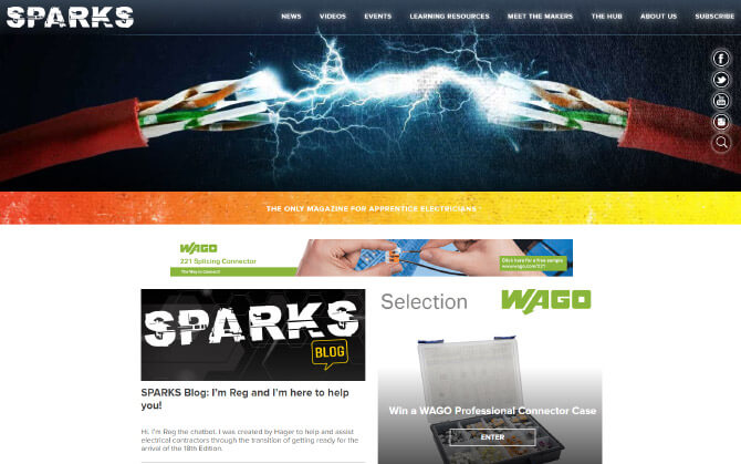 Sparks Magazine on mac