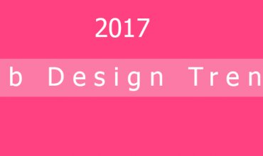 2017 web design trends