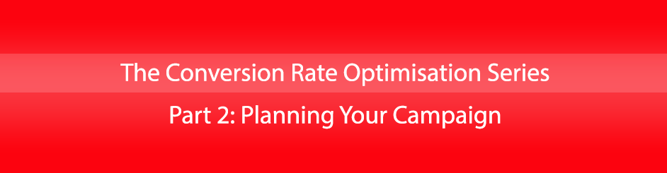 conversion rate optimisation planning