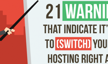 signs to switch webhosting infographic
