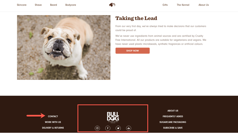 bulldog website