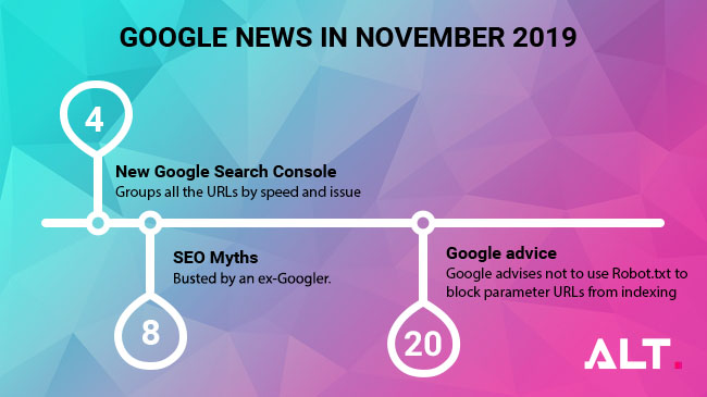 Google updates - November