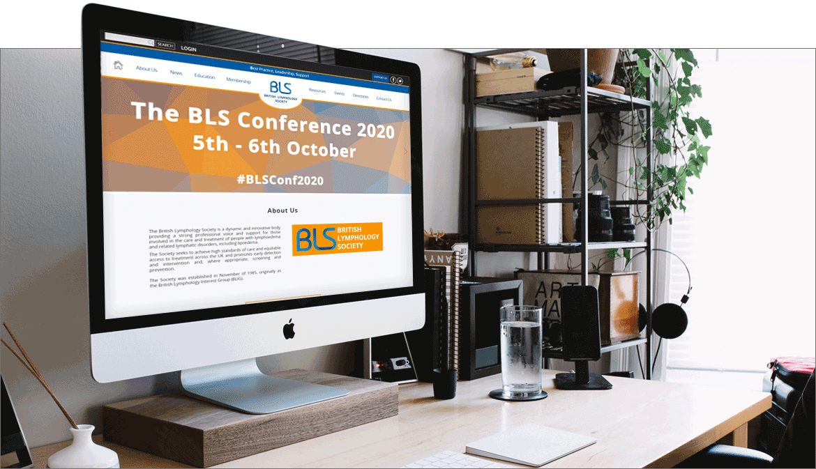 Screenshot of the BLS website