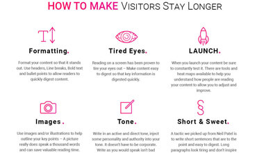 How to make your website visitors stay longer