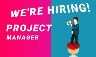 We're hiring a Project Manager!